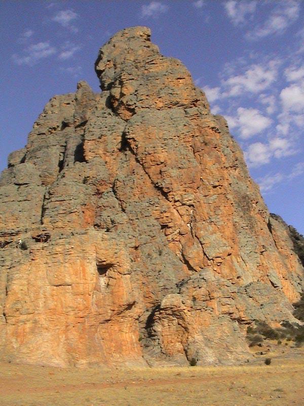 Rock Climbing At Mt Arapiles Natimuk Victoria Australia