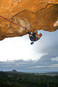 Malcolm Matheson on Nati Dread (30), Castle Crag