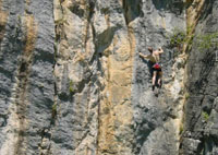 Marcel on impressive limestone of Vous Le Vu (19)