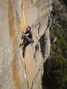 Nick McKinnon on Memento (23), Shroaders Cliff, Asses Ear.