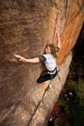 Jackie Bernardi on the second ascent of All the Way to Eleven (22)