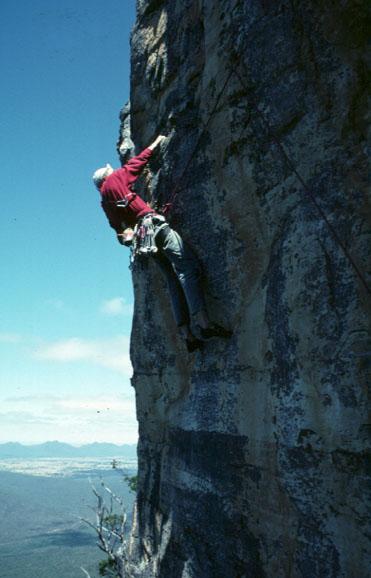 Rock Climbing In The Grampians Victoria Australia