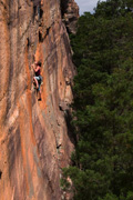 Hannah Lockie on the steep classic of Talk Of Mad Women 25m 21 **
