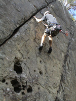"Adrian seconding ""Line Of 79"", 14m grade 15."